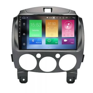 Bizzar Mazda 2 Tablet Style Android 9.0 8 Core Multimedia Station
