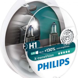 Philips H1 X-tremeVision +130% 12V 2τμχ ,12258XVS2